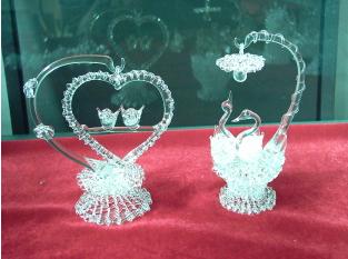 拉丝水晶工艺品加盟