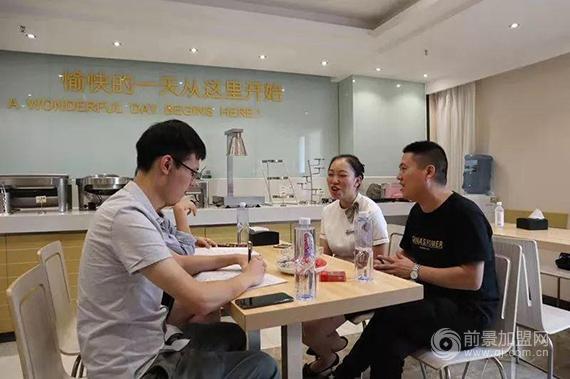 重庆加盟商黄洪斌:选对人,走对路,与王者共舞