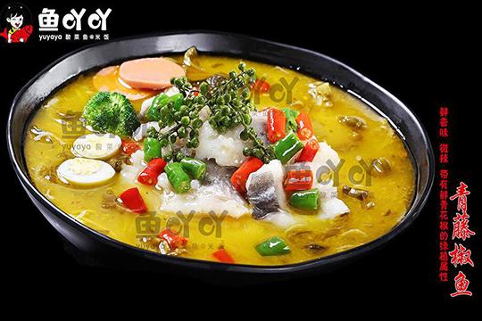 鱼吖吖酸菜鱼@米饭加盟店产品