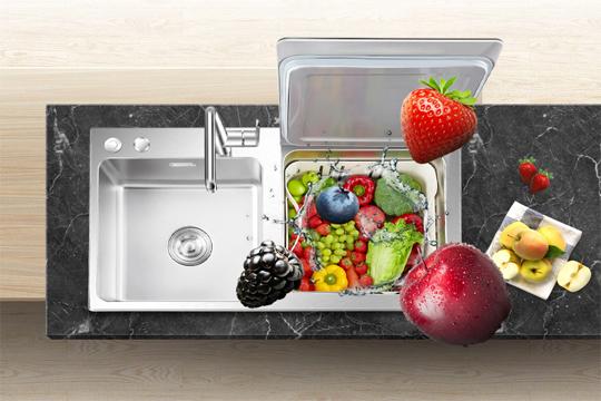 怡沛超声水槽式智能洗碗机加盟优势