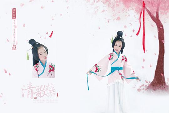 鳳綾兒中國風兒童攝影加盟支持