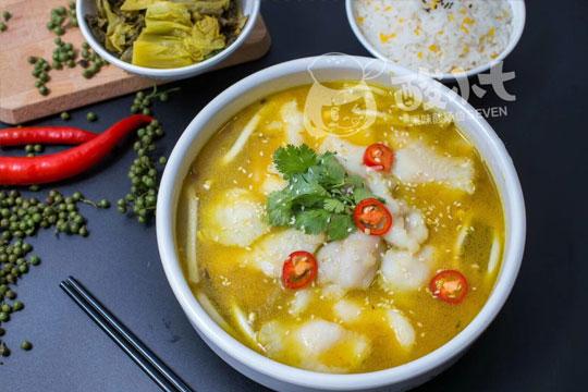 酸小七果味酸湯魚加盟品牌產品