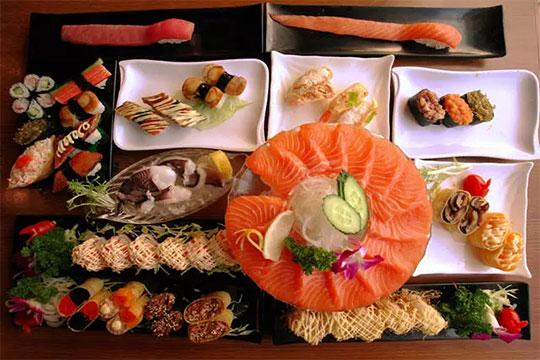 家一块寿司加盟菜品图
