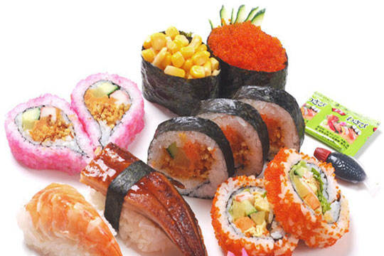 V多寿司加盟菜品图