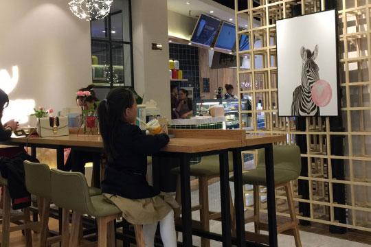 蜜月森林面包和茶加盟店