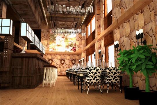 夏朵西餐厅加盟店面图