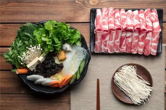 御品轩喷泉火锅加盟菜品图