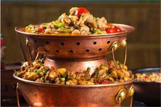 赛掌柜泡椒牛蛙加盟菜品图
