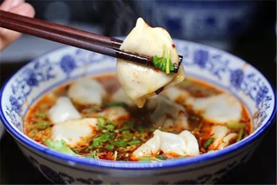 马二酸汤水饺加盟产品图