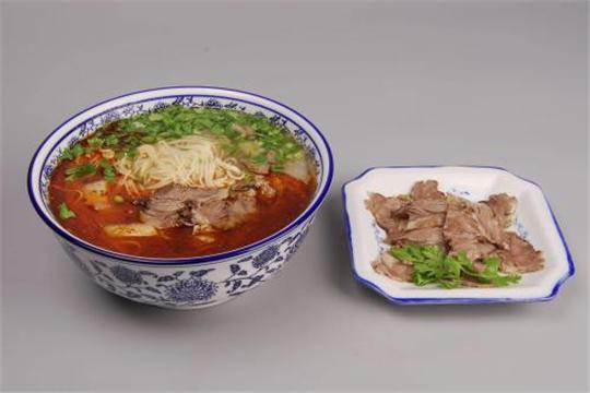 杨记清芳牛肉拉面加盟产品
