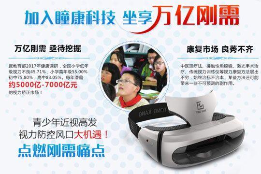 瞳康便携式智能眼镜加盟