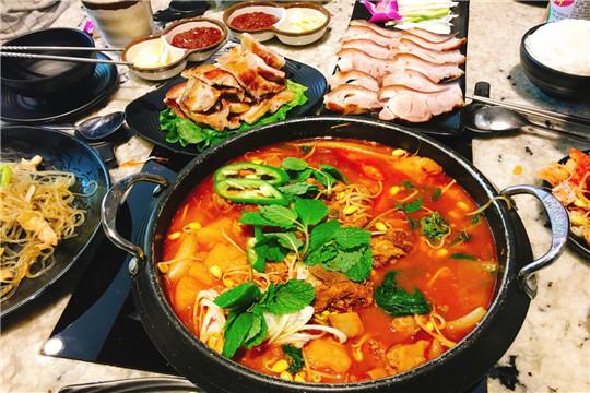 青鹤谷韩式料理加盟产品图