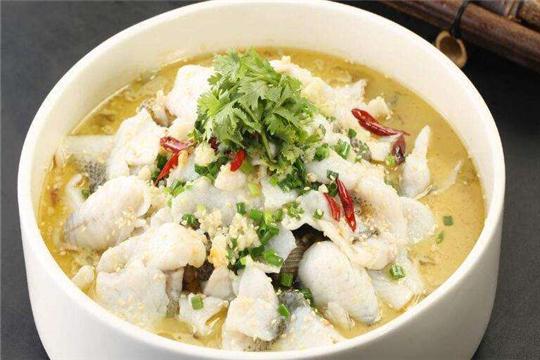 稻田捞渔酸菜鱼加盟菜品