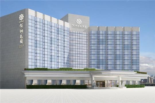 佰翔花园酒店加盟酒店大楼