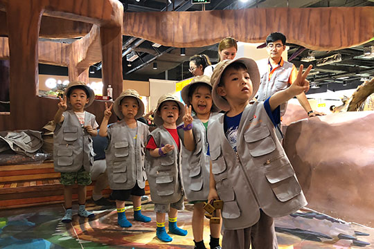 寶貝基地兒童主題樂園加盟