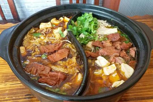 蜀王砂锅米线加盟产品图
