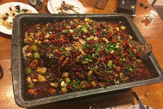 麻辣人生干锅烤鱼加盟
