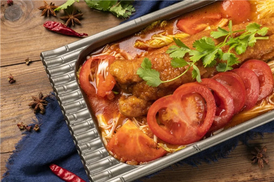 争烤烤鱼饭加盟品牌番茄烤鱼