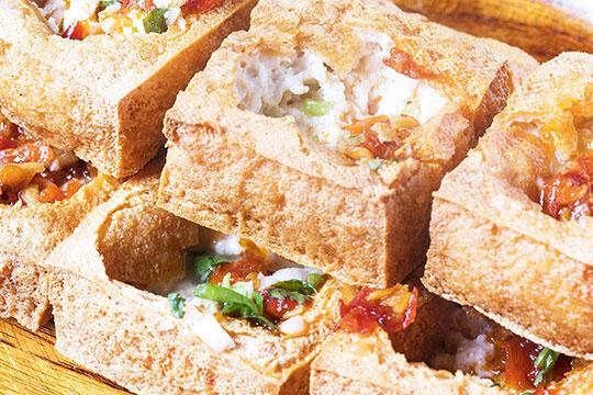 白色精品臭豆腐加盟产品图