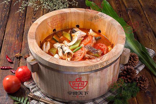 宇食天下汤烤喷泉火锅加盟产品图