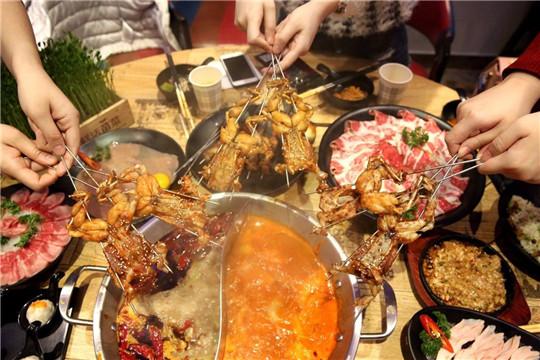 夜捞牛蛙火锅加盟产品图