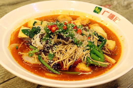唐氏广福记冒菜加盟产品图