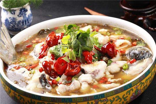 椒戏酸菜鱼加盟产品图