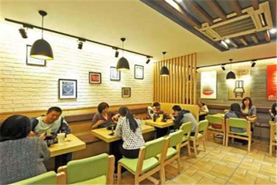 槿花小馆韩式简餐加盟门店