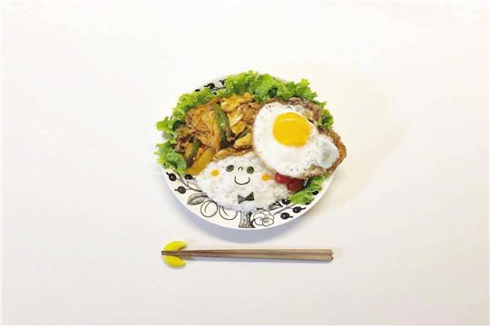 槿花小馆韩式简餐加盟产品图