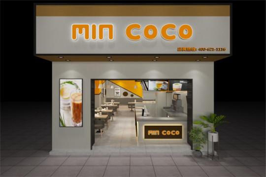 MIN COCO茶饮门店