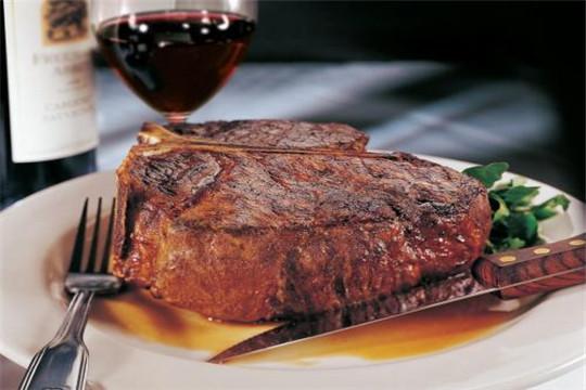 麦哈顿休闲牛排西餐厅牛排