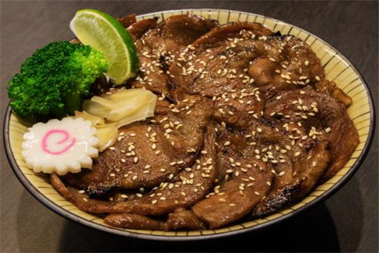 大富丼烧肉饭加盟产品图
