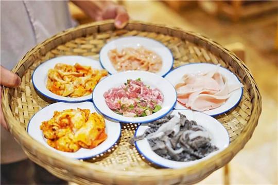 百年渝香老火锅菜品