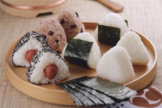 梁记台湾饭团加盟产品图