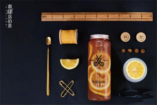 裁缝店的茶加盟产品图