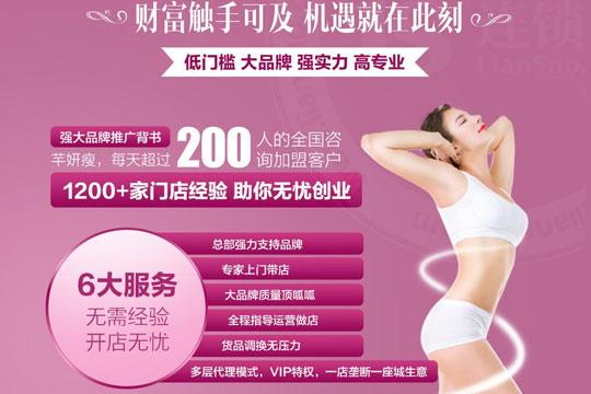 香港芊妍瘦加盟费用