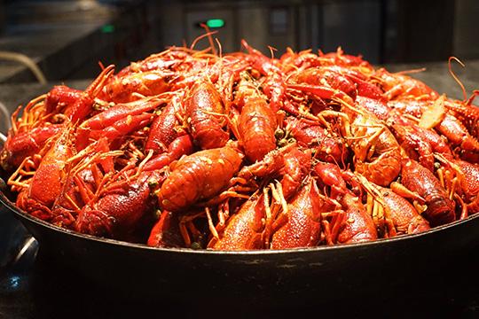 满盆龙虾产品图