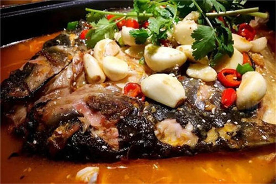 炭鲜么么鱼烤鱼饭加盟产品图