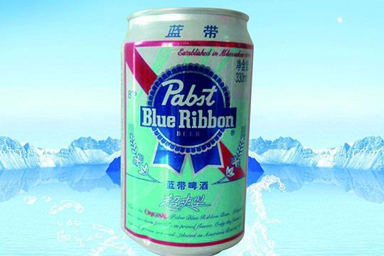 蓝带王啤酒产品图