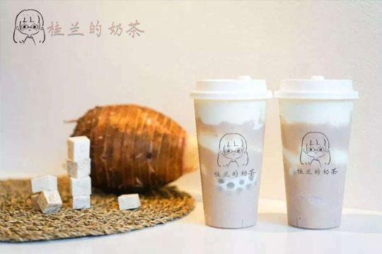 桂兰的奶茶加盟