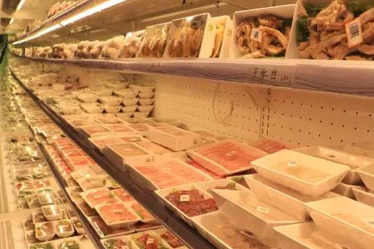绿康肉业火锅超市加盟展示图