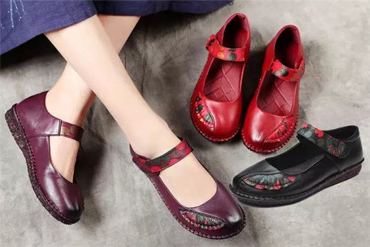红草帽女鞋加盟
