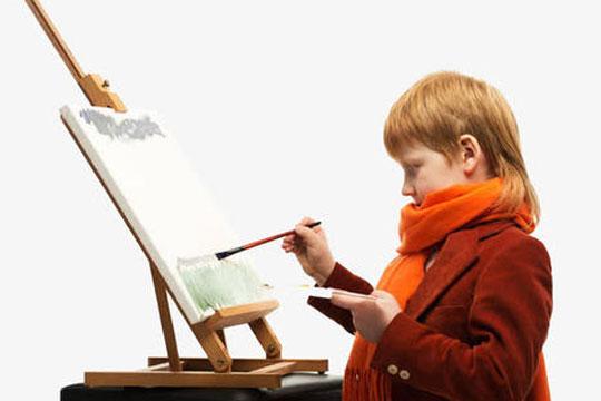 靜軒少兒美術教育加盟展示圖
