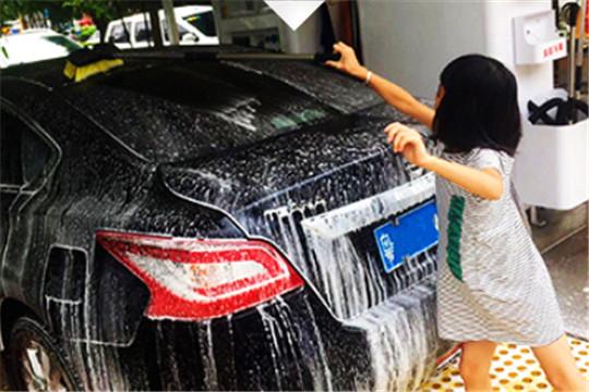 小雨嘀嗒智能洗车加盟