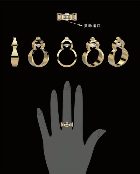 金至福·创意杯 2019全球钻饰设计大赛获奖作品展示