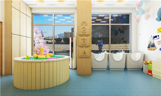 小鱼尼莫婴幼儿水育中心加盟