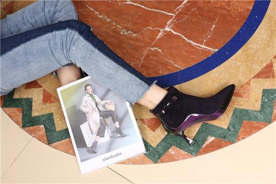 丹比奴秋季尖头短靴,即刻解锁秋季新靴品穿搭