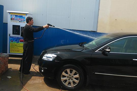 鲸音自助洗车机