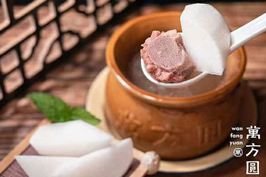 万方圆拌粉瓦罐汤