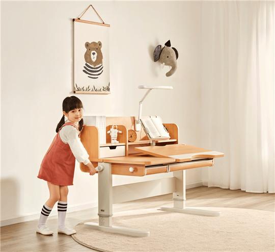 """儿童学习桌如何选?光明园迪满足你所有""""挑剔""""的要求"""